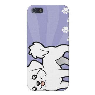 Cartoon Maltese (puppy cut) Cover For iPhone 5/5S