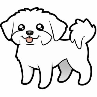Cute dog cartoon black and white for Black and white coloring pages of dogs