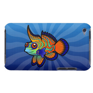 Cartoon Mandarin / Dragonet Fish Barely There iPod Cover