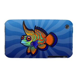 Cartoon Mandarin / Dragonet Fish Case-Mate iPhone 3 Case