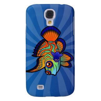 Cartoon Mandarin / Dragonet Fish Galaxy S4 Case