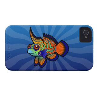 Cartoon Mandarin / Dragonet Fish iPhone 4 Cover