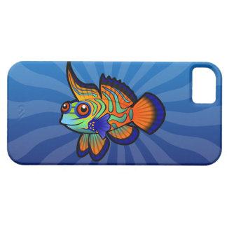 Cartoon Mandarin / Dragonet Fish iPhone SE/5/5s Case