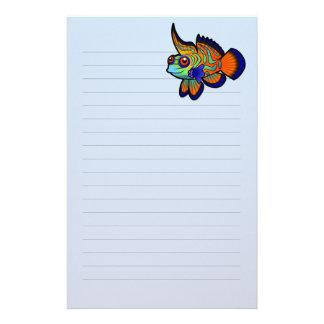 Cartoon Mandarin / Dragonet Fish Stationery