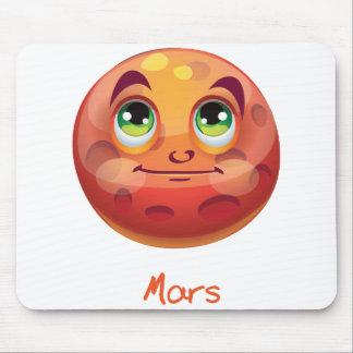 Cartoon Mars Mouse Pad