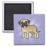 Cartoon Mastiff / Bullmastiff Magnets