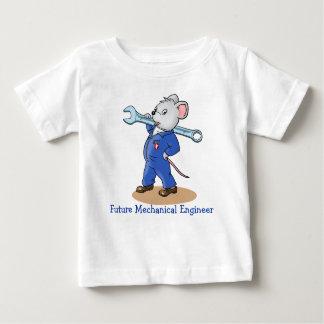 Cartoon Mechanic Mouse  -  Baby T-shirt