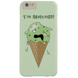 Cartoon Melting Ice Cream Cone (I'm Melting) Barely There iPhone 6 Plus Case