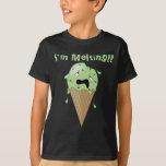 Cartoon Melting Ice Cream Cone (I'm Melting) T-Shirt
