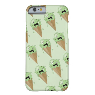 Cartoon Melting Ice Cream Cones Barely There iPhone 6 Case