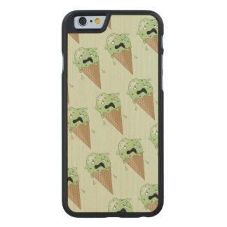 Cartoon Melting Ice Cream Cones Carved® Maple iPhone 6 Slim Case