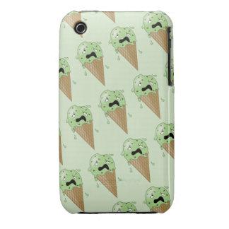 Cartoon Melting Ice Cream Cones iPhone 3 Cover