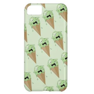Cartoon Melting Ice Cream Cones iPhone 5C Cover