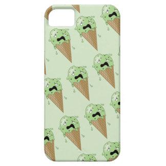 Cartoon Melting Ice Cream Cones iPhone SE/5/5s Case