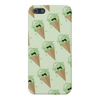 Cartoon Melting Ice Cream Cones iPhone SE/5/5s Cover