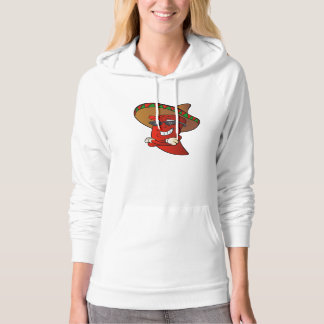 cartoon mexican pepper. hoodie