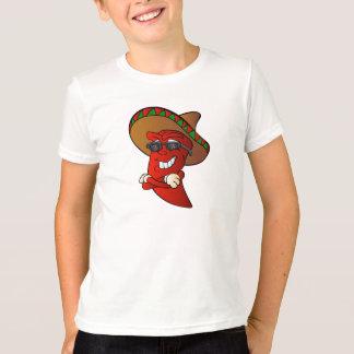 cartoon mexican pepper. T-Shirt
