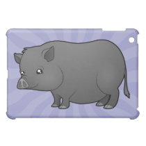 Cartoon Miniature Pig Case For The iPad Mini