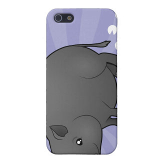 Cartoon Miniature Pig Cover For iPhone SE/5/5s