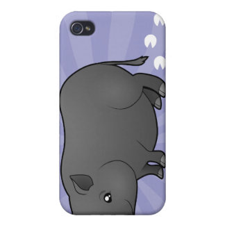 Cartoon Miniature Pig Covers For iPhone 4