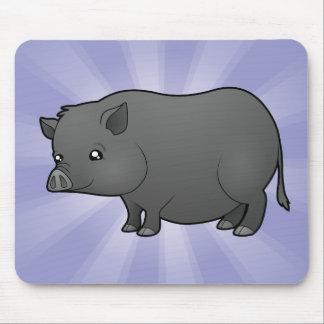 Cartoon Miniature Pig Mouse Pad