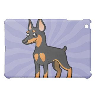 Cartoon Miniature Pinscher / Manchester Terrier iPad Mini Cases