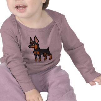Cartoon Miniature Pinscher / Manchester Terrier Tshirt