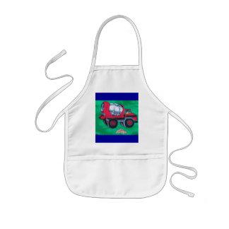 cartoon mixer kids' apron
