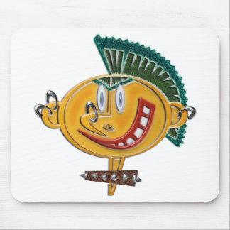 Cartoon Modern Boy Apparel Mouse Pad