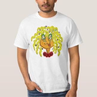 Cartoon Modern Girl T-Shirt