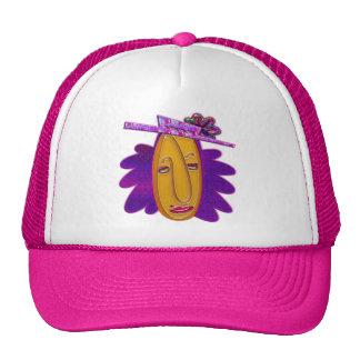Cartoon Modern Woman Print Trucker Hat
