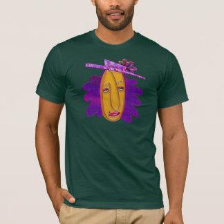 Cartoon Modern Woman T-Shirt