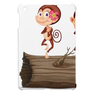 cartoon monkey cover for the iPad mini