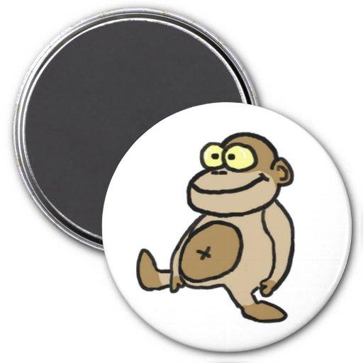 Cartoon Monkey Magnet