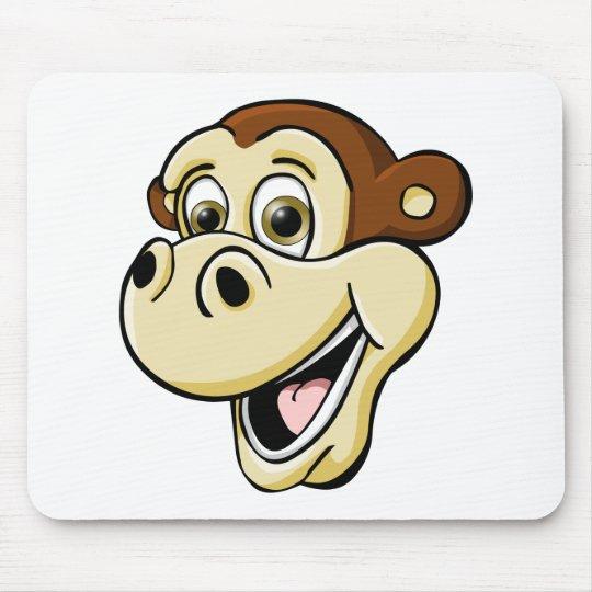 Cartoon Monkey Mouse Pad