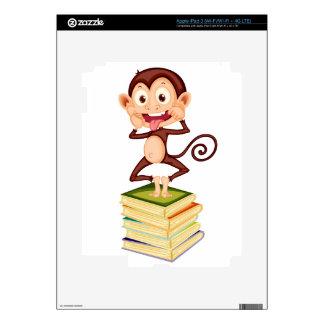 cartoon monkey iPad 3 skins