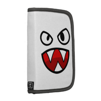 Cartoon Monster Eyes and Mouth with Sharp Teeth Organizers