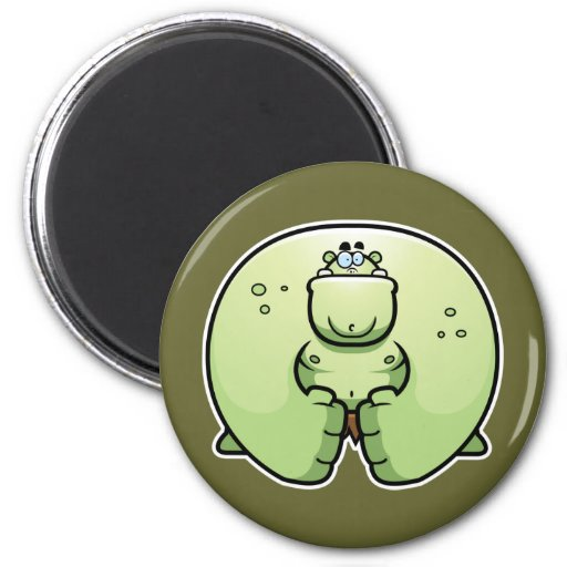 Cartoon Monster Fridge Magnet