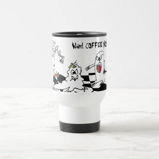 Cartoon Monster Stainless Mug