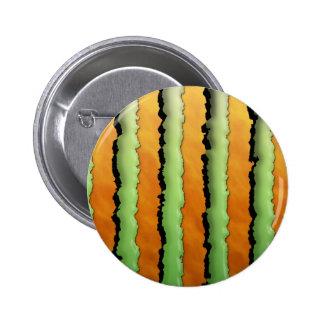 Cartoon Monster Stripes Button