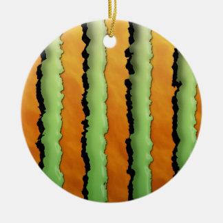 Cartoon Monster Stripes Ornaments