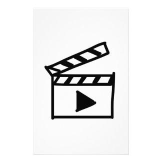 Cartoon Movie Clapperboard Customized Stationery