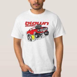 Cartoon Muscle Car Blown Away T-Shirt