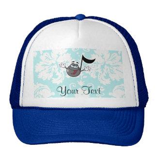 Cartoon Music Note; Cute Trucker Hat
