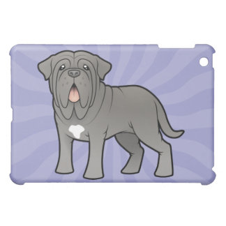 Cartoon Neapolitan Mastiff Case For The iPad Mini