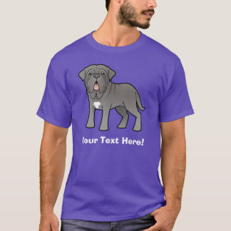 Cartoon Neapolitan Mastiff T-Shirt