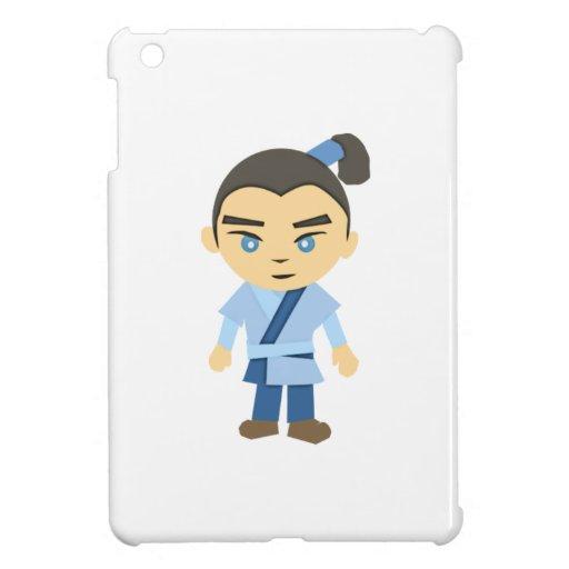 Cartoon Ninja Boy iPad Mini Cases