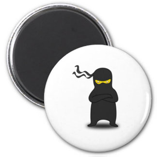 Cartoon Ninja Refrigerator Magnet