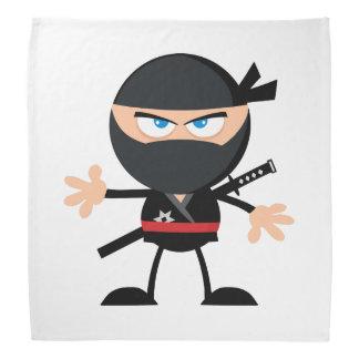 Cartoon Ninja Warrior Bandana