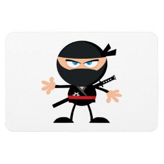 Cartoon Ninja Warrior Magnet